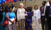 Amb opens Gulu lab 2016