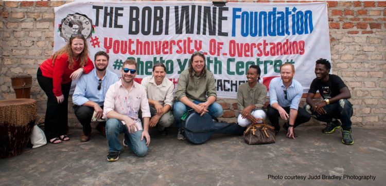 American Bluegrass Band  Henhouse Prowlers Visits Uganda's Bobi Wine