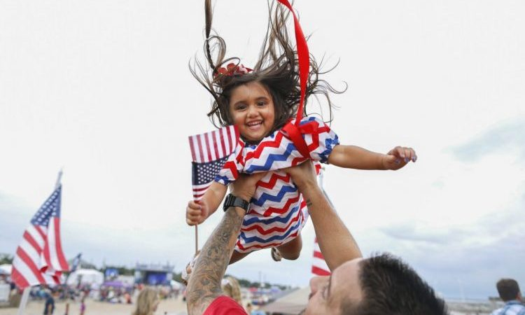 The 4th of July in pictures: The USA's biggest birthday party