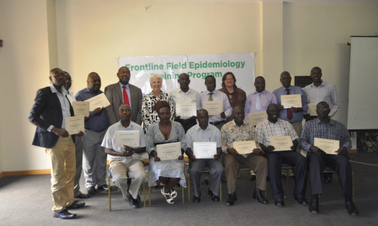 Ambassador Applauds First Frontline Field Epidemiology Program Graduates
