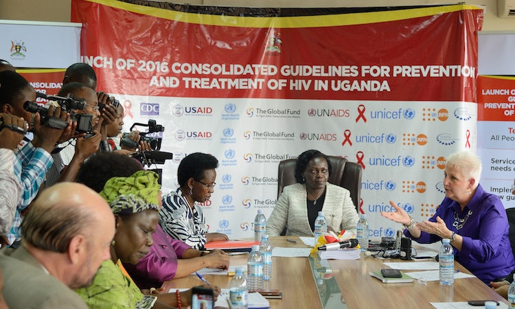 U.S. Government supports Ministry of Health in launching Test and Treat Guidelines for HIV/AIDS