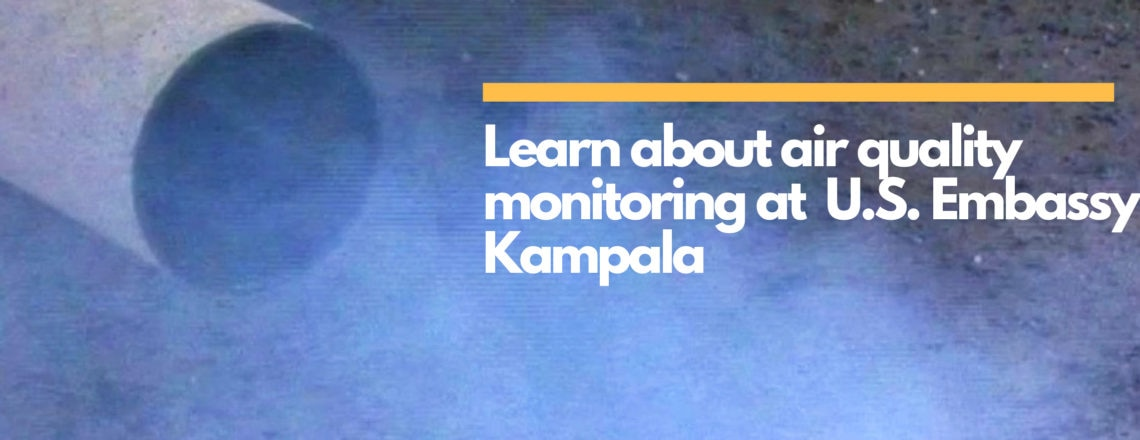 See current measurements of the air quality index in Kampala