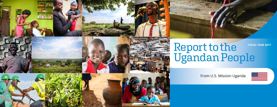 Download Copy of the 2017 Report to the Ugandan People